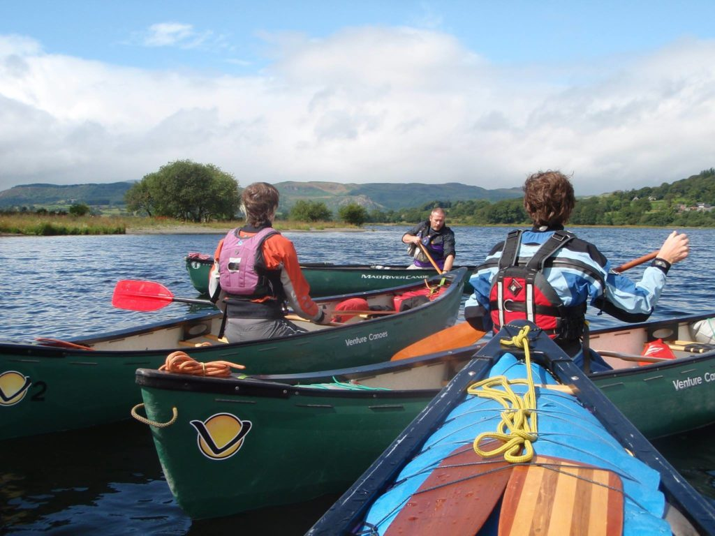 Canoe Award Open Water Training Day
