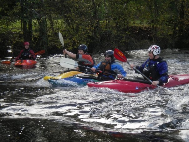 Intermediate whitewater Kayak Skills