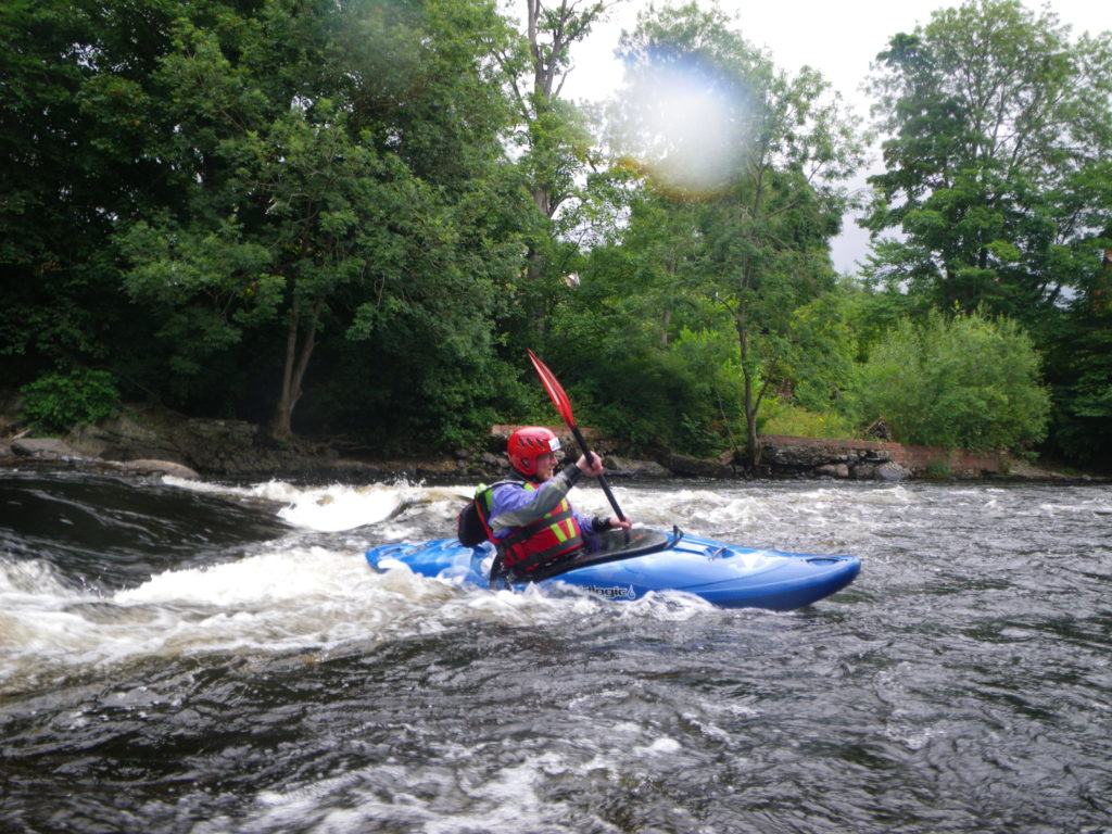 Introduction to whitewater kayak