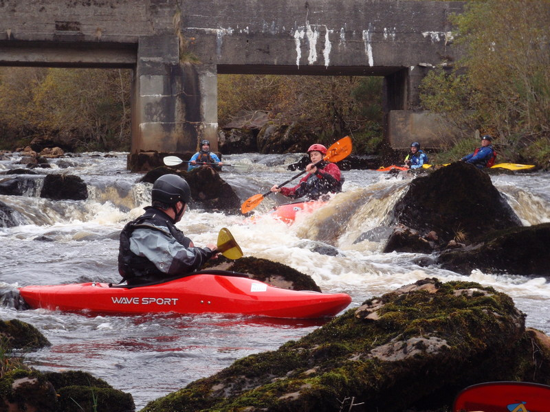 Whitewater Kayak leader Training